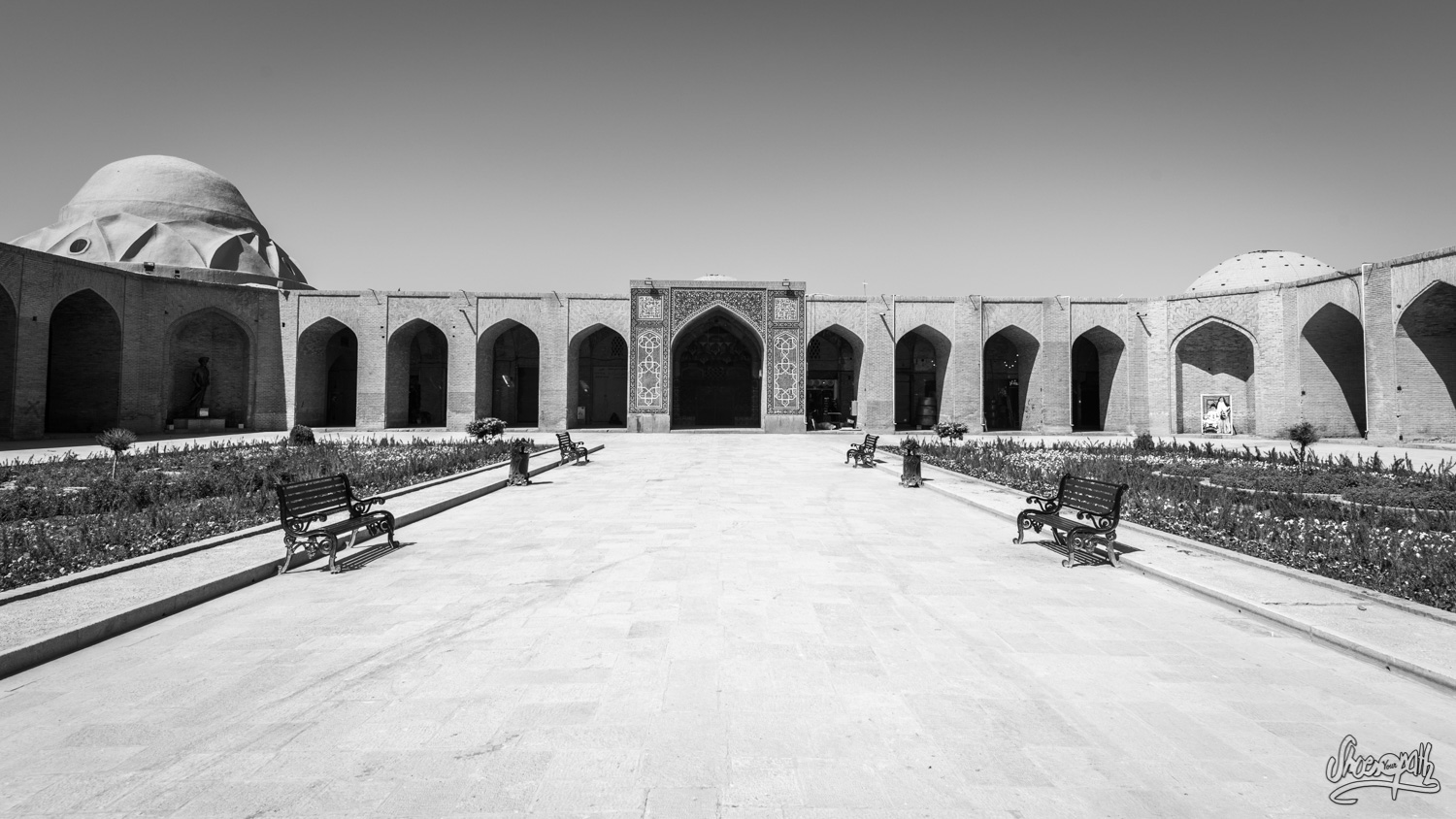 Kerman, place Ganjali Khan - Iran
