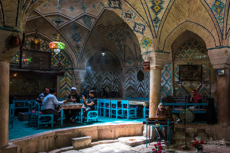 L'ancien hammam reconverti à Kerman