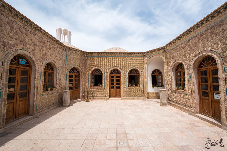 Un petit quartier caché dans le bazar de Kerman