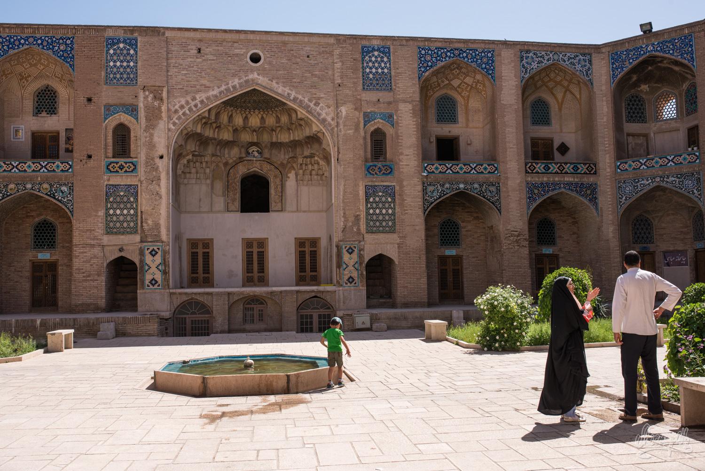 Kerman, le sérail de la place Ganjali Khan