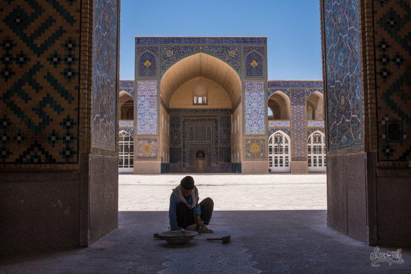 La Jameh Mosque De Kerman