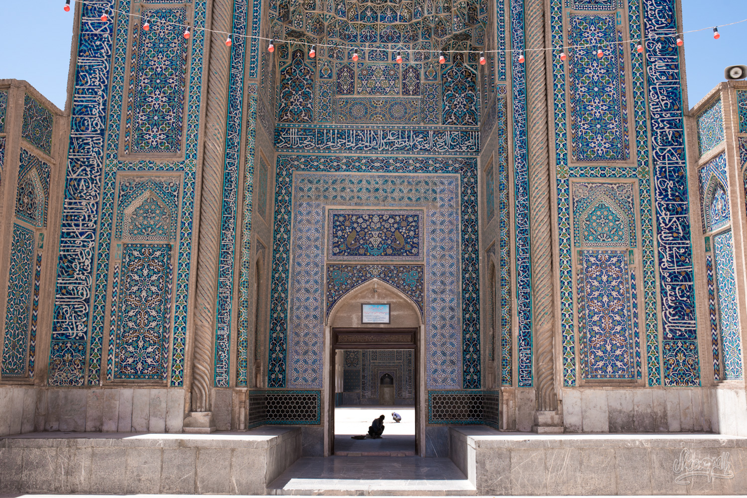 La Jameh mosque de Kerman