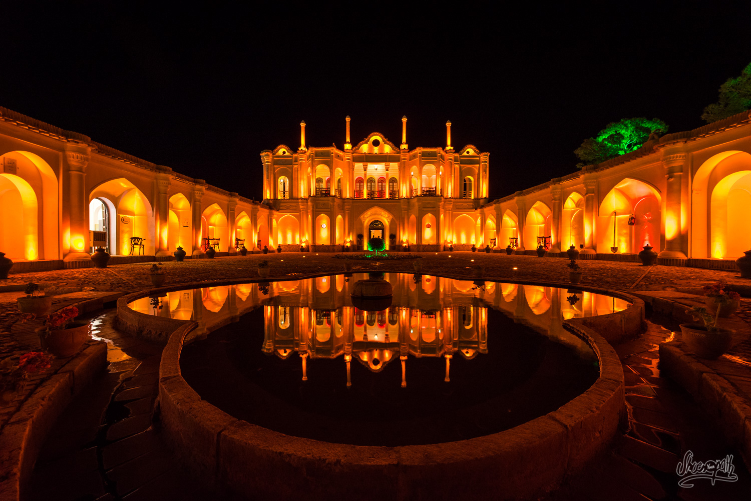Fathabad garden, just outside Kerman