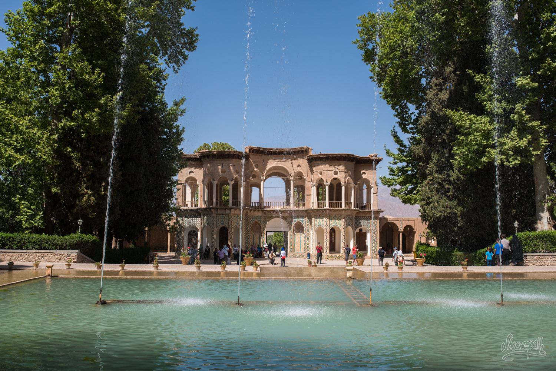 Le jardin Shahzadeh à proximité de Kerman