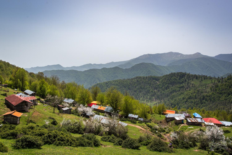 Olasbelangah, village pastoral dans la région de Masal