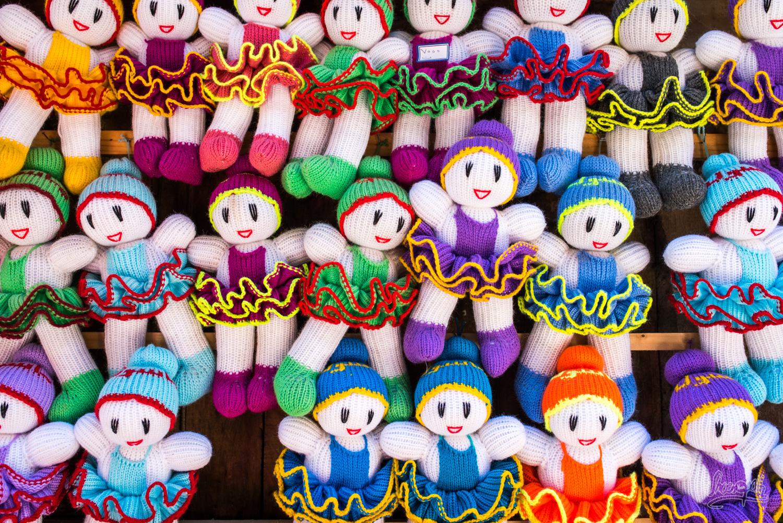 Les petites poupées en laines tricotée vendues un peu partout à Masuleh