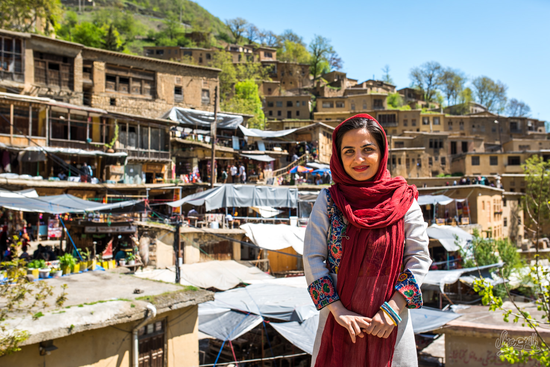 Maryam devant Masuleh