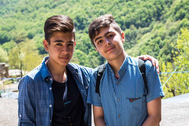 Des jeunes rencontrés à Masuleh