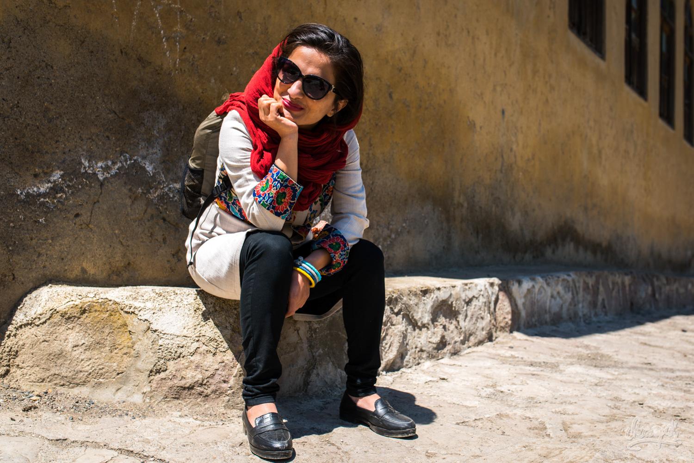 Maryam, dans les rues de Masuleh