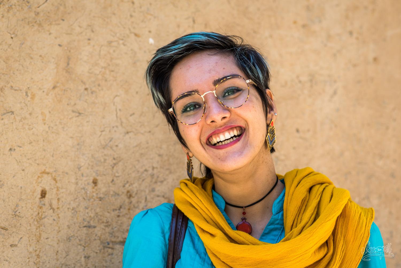 Narmin, une des jeunes avec qui nous avons visité la ville de Rasht