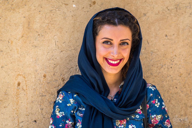 Mahsa, une des jeunes rencontrés à Masuleh