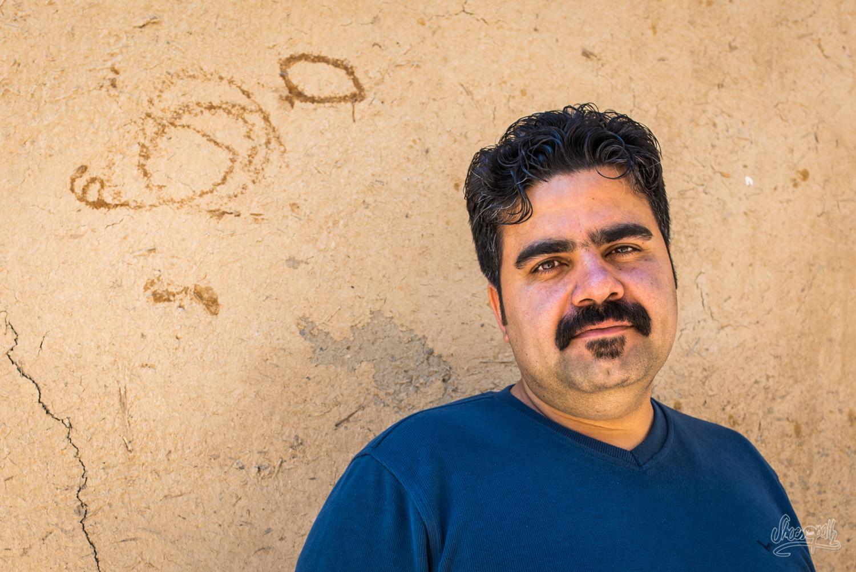 Ehsan, un des jeunes avec qui nous avons visité Rasht