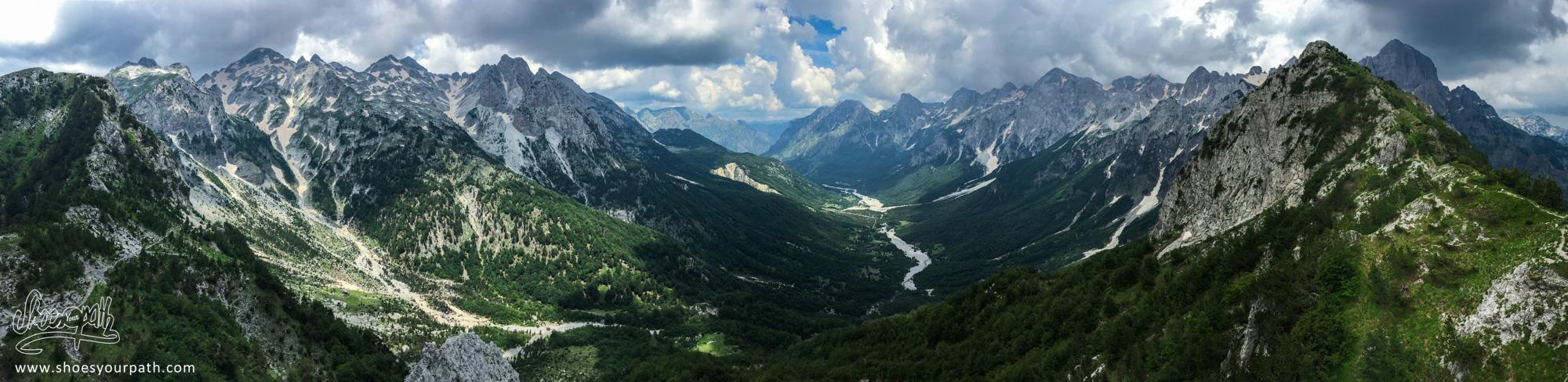 Valbona pass - Albanie - Peaks of the Balkans