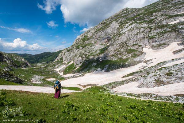 Sur Le Col De Prosllopit - Peaks Of The Balkans
