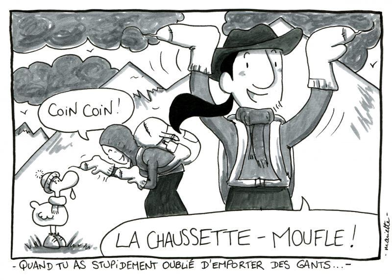 Les Chaussettes-moufles - BD Shoesyourpath - Mariette -