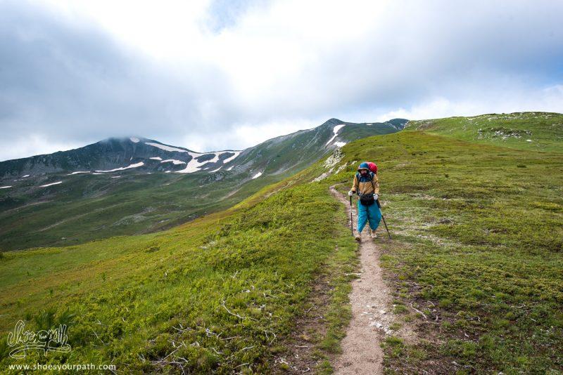 Sur La Crête Entre Doberdöl Et Milishevc - Peaks Of The Balkans