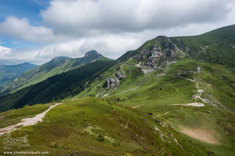 Passage De La Frontière Du Kosovo - Peaks Of The Balkans