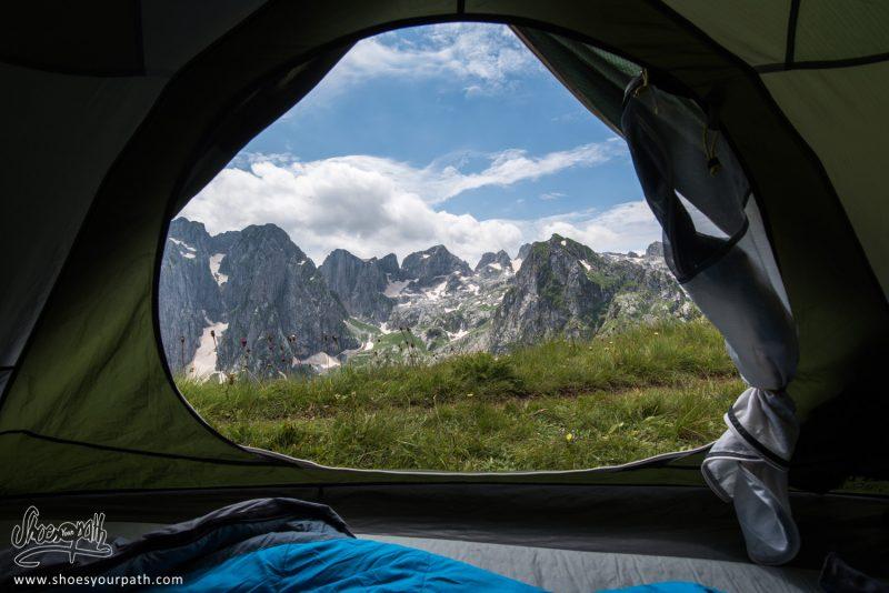 Camping Avec Vue Sur La Grebaje Valley