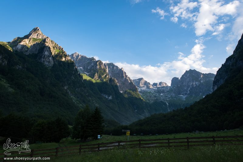 Coucher De Soleil Après L'orage Sur La Grebaje Valley - Montenegro