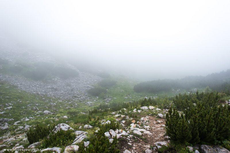 Entre Milishevc Et Drelaj, Dans Le Brouillard - Peaks Of The Balkans