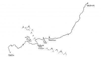 Peaks of the Balkans : Theth - Valbona