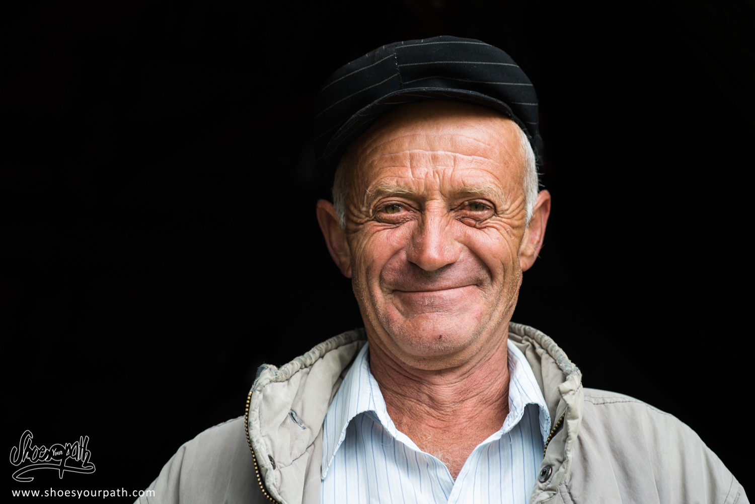 The man who offered us a few raki glasses in Doberdöl - Peaks of the Balkans