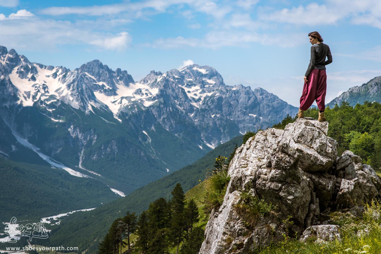 214 - Above Valbona - Albania - Peaks of the Balkans