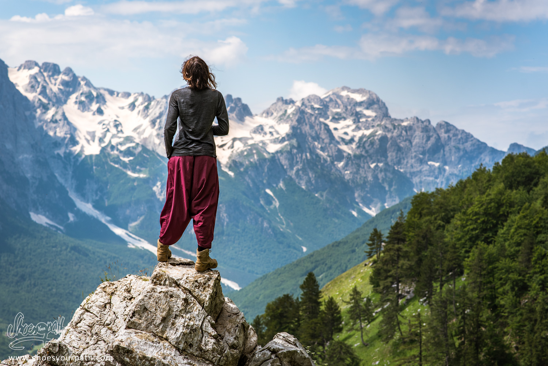 212 - Above Valbona - Albania - Peaks of the Balkans