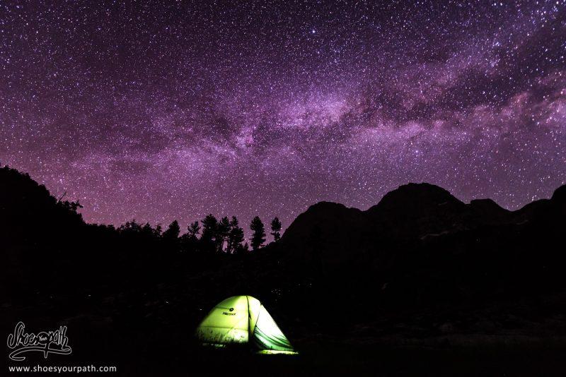 Camping Sous Les étoiles, Entre Vusanje Et Theth - Peaks Of The Balkans