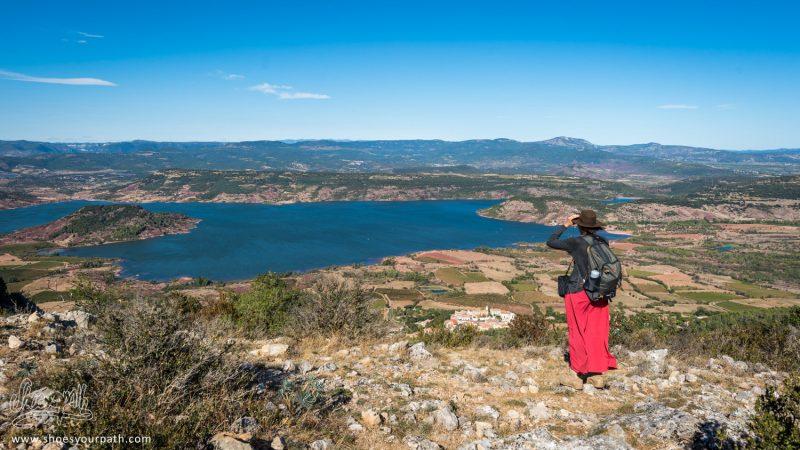 Au Sommet Du Mont Liausson Entre Mourèze Et Le Lac Du Salagou