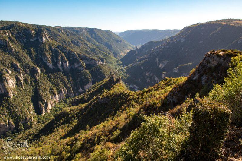 Les Gorges Du Tarn Depuis Le Belvédère Du Point Sublime