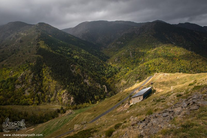 Col De Mantet Sous L'orage - Pyrénées Catalanes, France