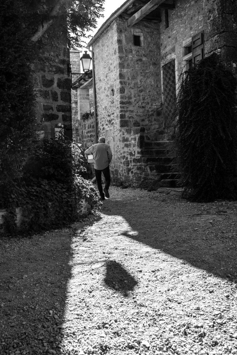 Au Petit Matin, La Couvertoirade S'éveille - Larzac, France