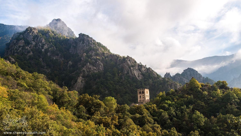 The monastery of Sain Martin du Canigou - Pyrénées Catalanes