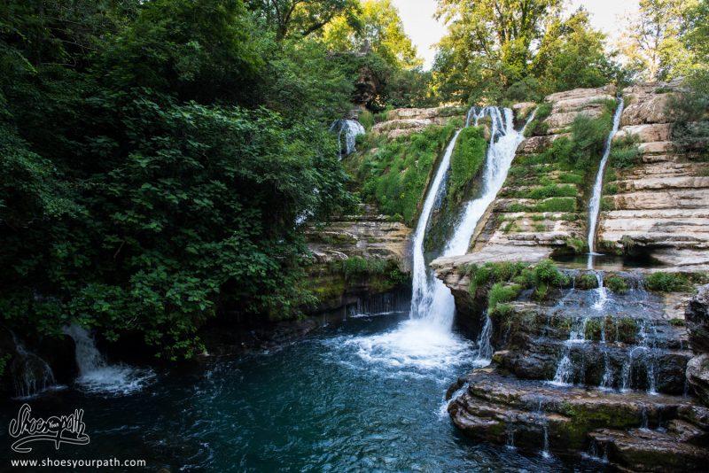 Cascades Dans Les Gorges De La Vis à Navacelles, France