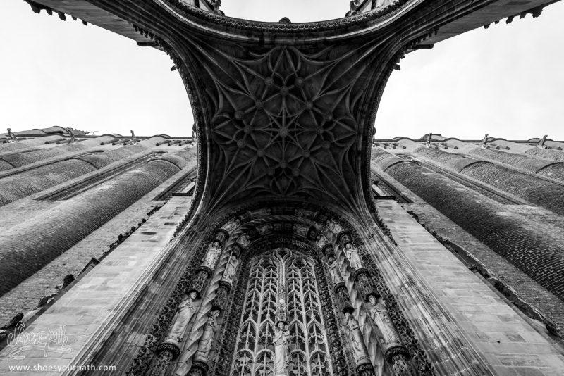 Cathédrale Sainte-Cécile D'Albi. Occitanie, France.