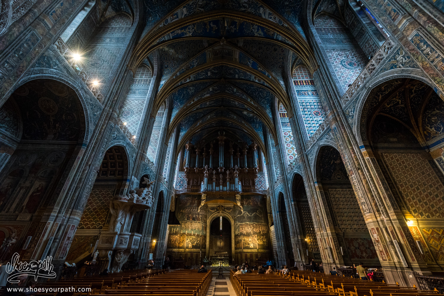 The wonderful Cathedral of Sainte-Cécile d'Albi