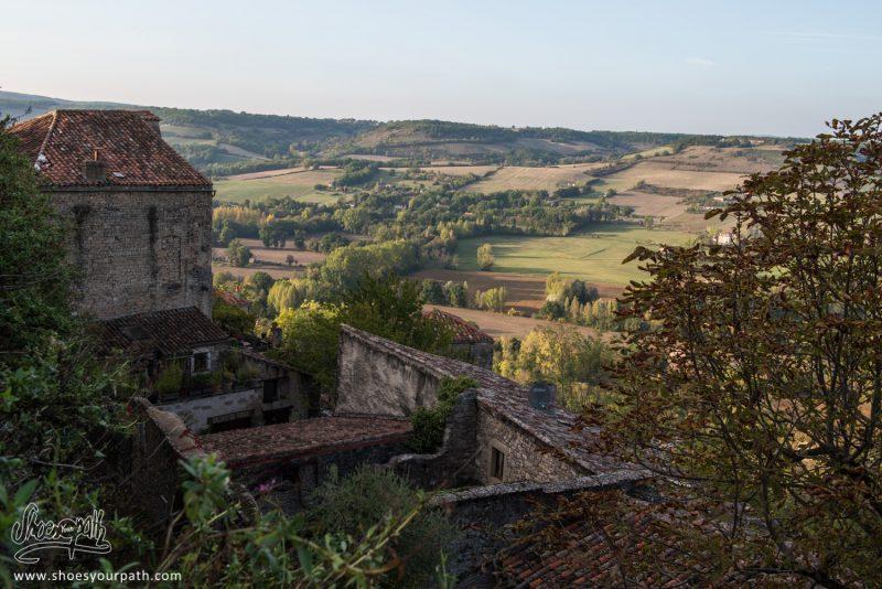 Sur Les Hauteurs De Cordes-sur-Ciel. Occitanie, France.