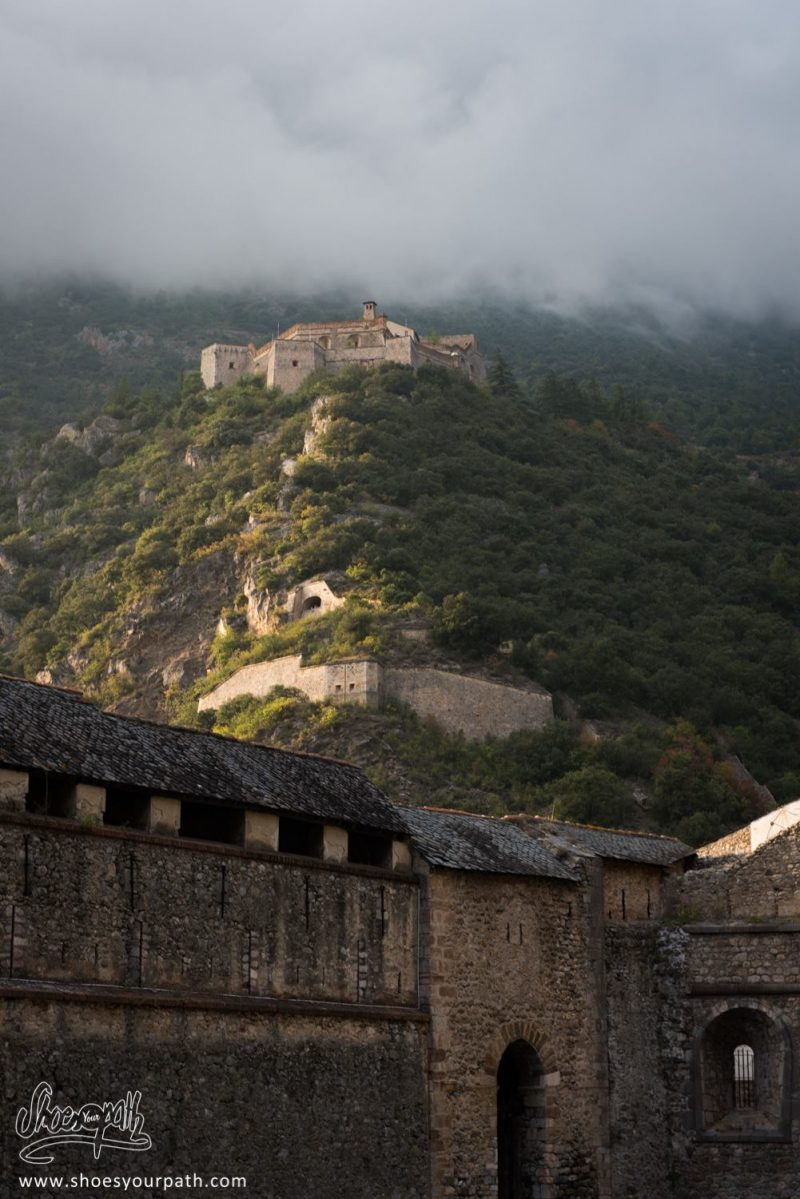 Fort Libéria Veille Sur Villefranche De Conflent - Pyrénées Catalanes, France