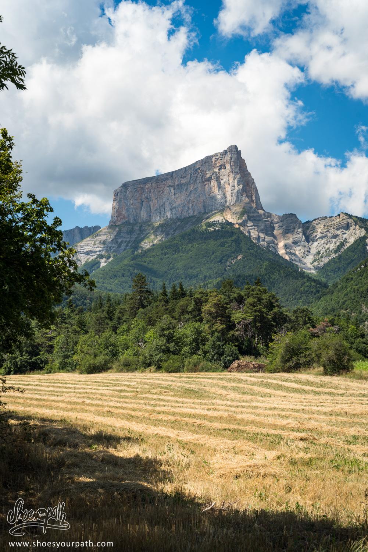 Plateau du Vercors, avant de se lancer dans l'ascension