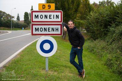 M. Shoes - Quentin à la ville de Monein