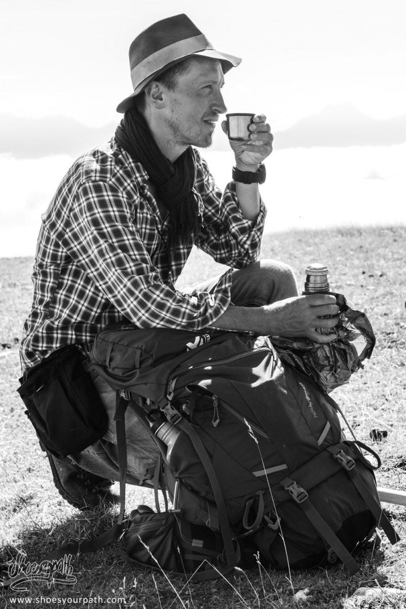 David, En Pause Café