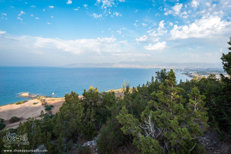 La Baie De La Péninsule D'Akamas, Depuis Le Adonis Nature Trail
