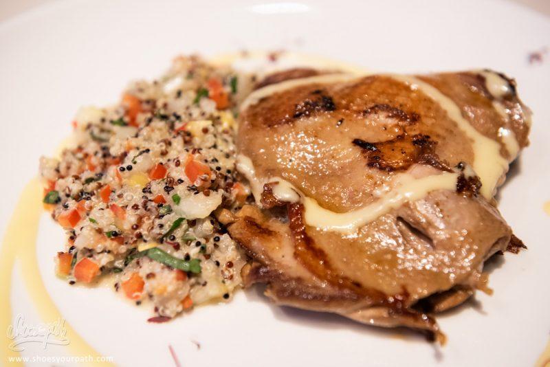 Poulet Grillé Et Mariné à L'orange - Finikas Restaurant, Polis