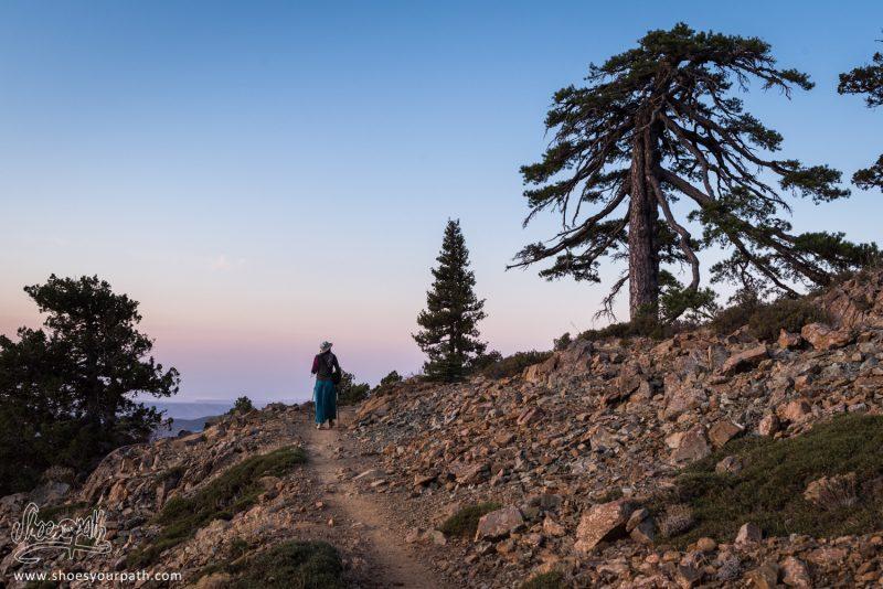 Lever De Soleil Sur Le Atalanti Nature Trail - Trodos, Chypre
