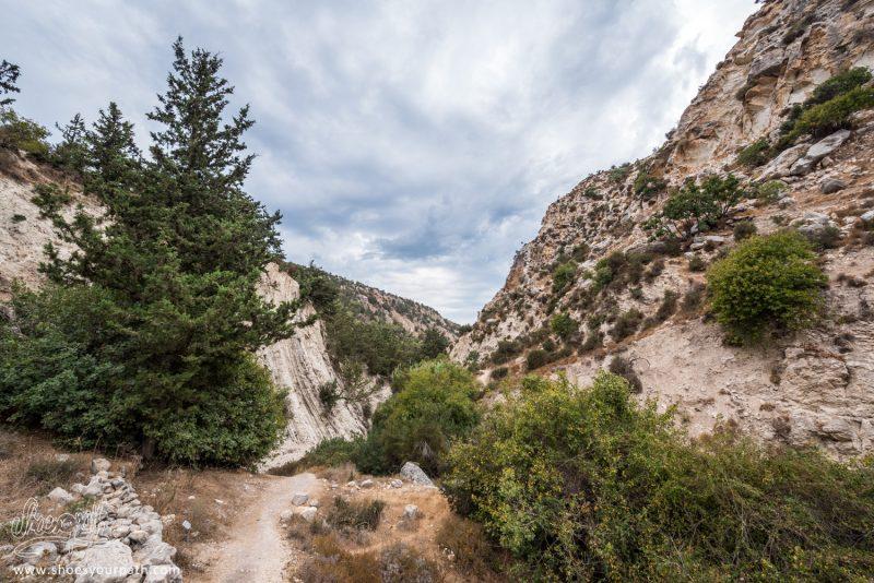 A La Sortie De La Randonnée Au Fond Des Gorges D'Avakas
