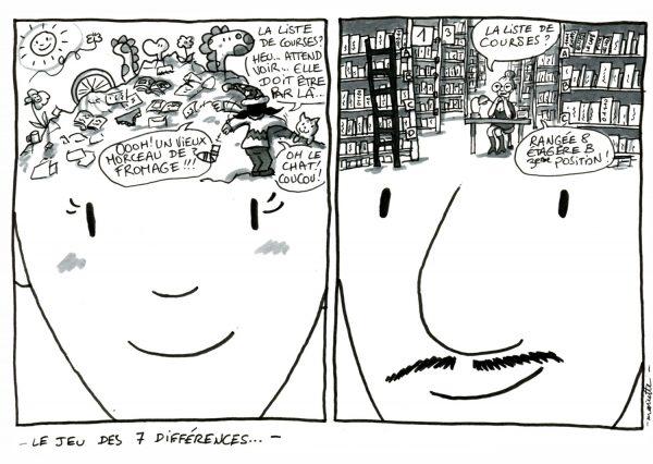 Le Jeu Des 7 Différences - BD Voyage - Shoesyourpath - Mariette -