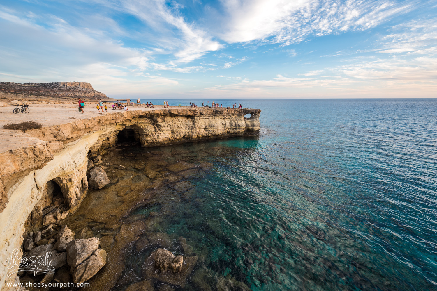 Sea Caves, Cape Greco, Ayia Napia - Chypre