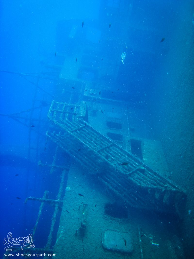 En Remontant Vers Le Poste De Pilotage Du Zenobia - Chypre
