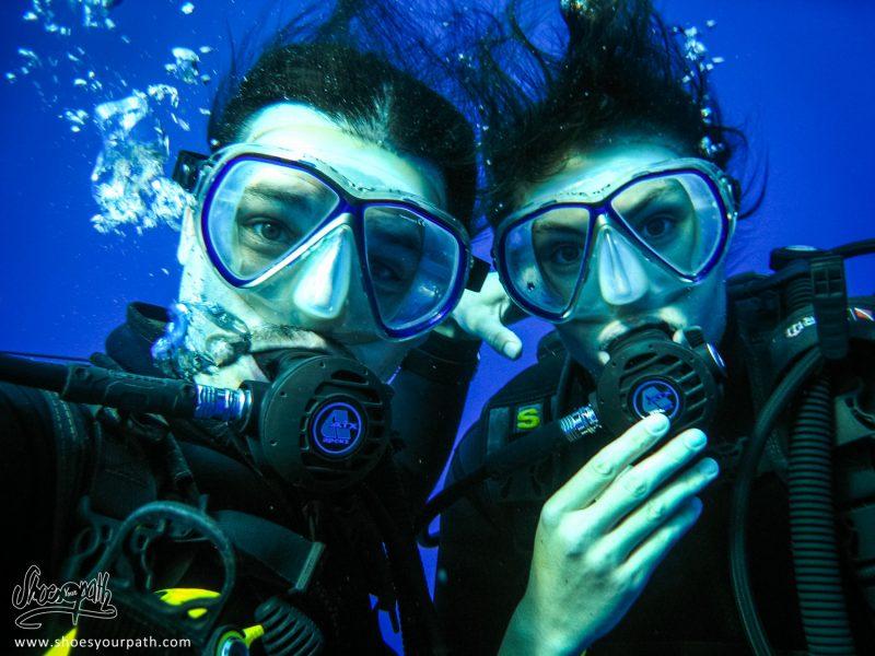 Underwater Selfie !